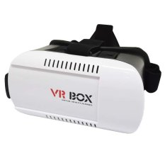 VR Box 2.0 Virtual Reality 3D Glasses For Smartphone - Putih