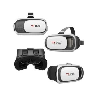 Diskon Besarvr Box Vr02 Virtual Reality 3D Glasses With Bluetooth Gamepad Remote Controller Original Product