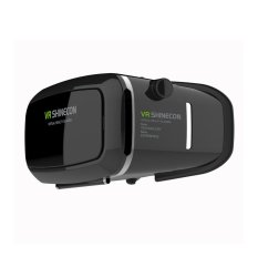 Vr Shinecon Virtual Reality 3D Video Glasses For Smartphone Android Ios Hitam Murah