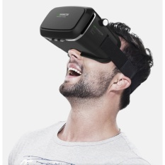 Beli Vr Shinecon Virtual Reality Headset 3D Imax Video Glasses Radiation Protection For Movies Games 3 5 6 Inch Mobile Phones Intl Murah Tiongkok