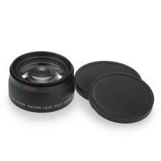 VR_Tech Generik Lensa Wide Angle Len untuk Canon Camcorder Profesional 52 Mm 0.45X-Intl