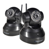 Spesifikasi Vstarcam 720 P Hd 1 0Mp Cctv Home Keamanan Wi Fi Ip Kamera Ir Potong Malam Visi Ph Plug 2 Pcs Hitam Merk Vstarcam