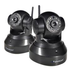 Beli Vstarcam 720 P Hd 1 0Mp Cctv Home Keamanan Wi Fi Ip Kamera Ir Potong Malam Visi Ph Plug 2 Pcs Hitam Vstarcam Dengan Harga Terjangkau