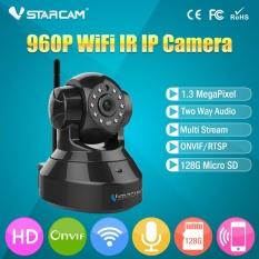 Jual Vstarcam C37A Nirkabel Ip Kamera Inframerah P2P Wifi Kamera Cctv Pan Tilt Webcam Indoor Camera Hitam Atau Putih Intl Branded Original