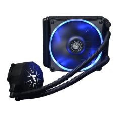 VTG120 Liquid Freezer Sistem Pendingin Cair Air CPU Cooler FluidDynamic Bearing 120mm Fan dengan Lampu LED Biru-Intl