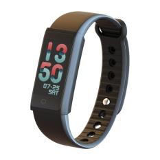 W03 Bluetooth 4.0 Tingkat Jantung Profesional Smart Watch dengan Colorful UI Tekanan Darah Tes Acitvity Tracking Pemantauan Tidur Smart Gelang PK Mi Band 2-Intl