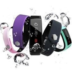 W808s Gelang Jantung Kesehatan Monitor Bluetooth Gelang Pintar Pedometer IP67 Air Bukti Gelang Kebugaran Tracker Watches-Intl