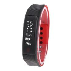 W810 Smart Gelang Bluetooth 4.0 Denyut Jantung Tidur Monitor Kebugaran Tracker-Intl