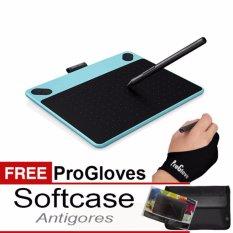 Jual Cepat Wacom Intuos Comic Cth 490 Pen Touch Small Mint Blue Gratis Softcase Antigores