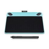 Harga Wacom Intuos Draw Ctl490 Blue Pen Tablet Alat Desain Graphis Asli