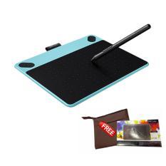 Spesifikasi Wacom Intuos Draw Ctl490 Pen Tablet Mint Blue Gratis Softcase Dan Proskin Antigores Paling Bagus