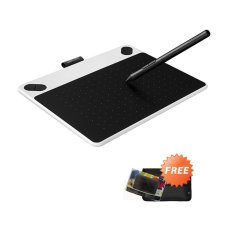 Review Wacom Intuos Draw Ctl490 Pen Tablet White Gratis Softcase Dan Proskin Antigores Terbaru