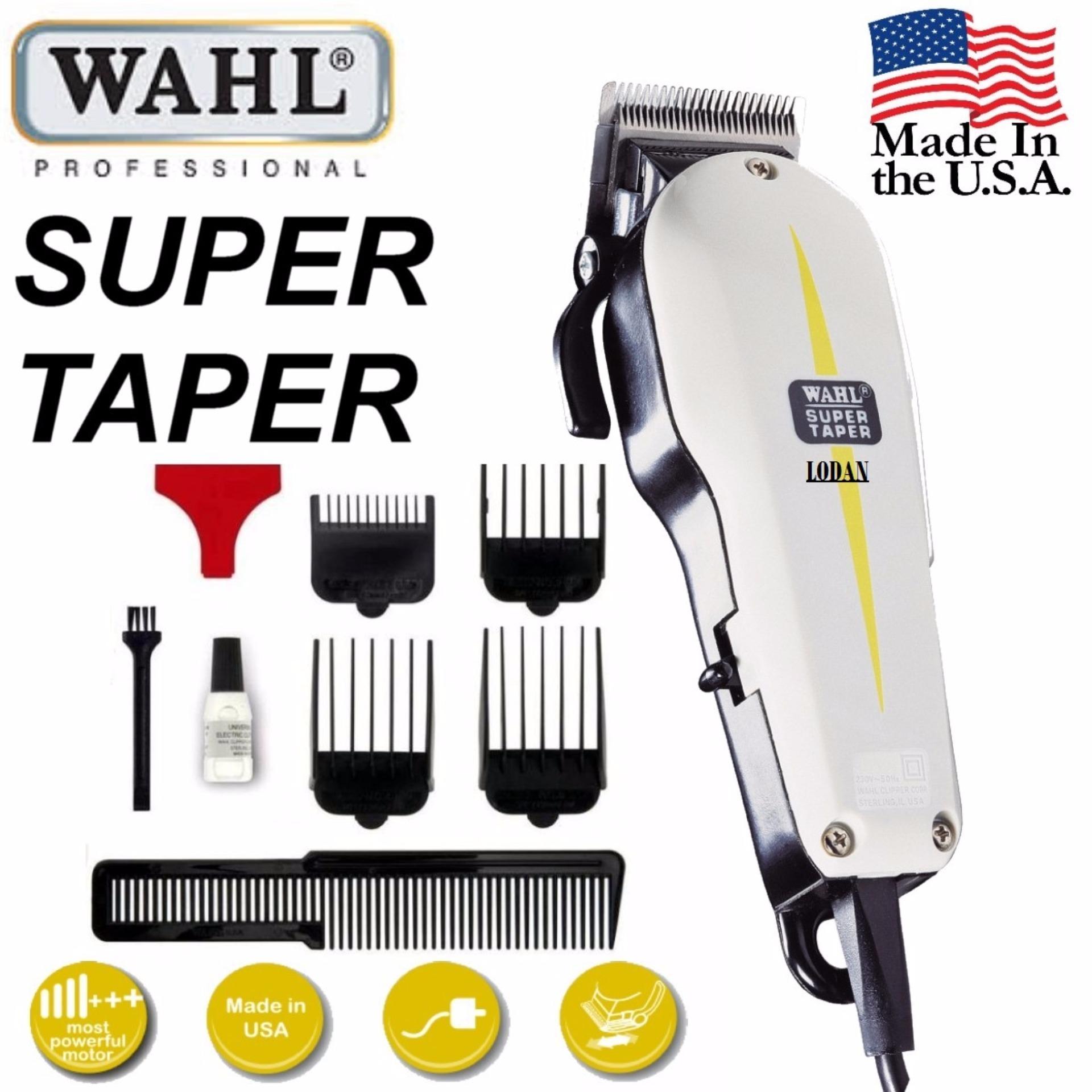 Wahl / Alat Cukur Rambut / Super Taper Profesional Classic Series / Hair Clipper 1set /
