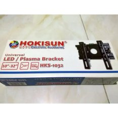 wall bracket / braket / breket tv universal 10-32 adjustable with water pass / bracket semua merek tv