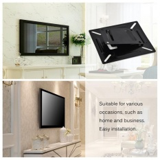 Wall-mounted Stand Bracket Holder untuk 12-24 Inch LCD LED Monitor TV Layar PC