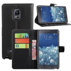 Harga Wallet Case For Samsung Galaxy Note Edge Black Merk Oem