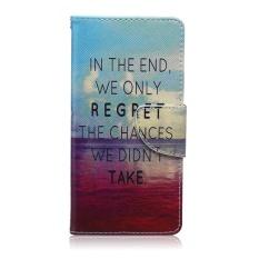 Klip Wallet untuk LG Optimus L70 L 70 65 LS620 Case D315 D325 D320 D329 D320N MS323 Lukisan Flip Telepon Kulit Cover untuk L65 Dual D285 D280 Kasus Telepon-Intl