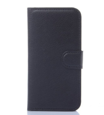 Wallet Flip PU Leather Cover for Huawei Ascend Y540 (Black) - intl
