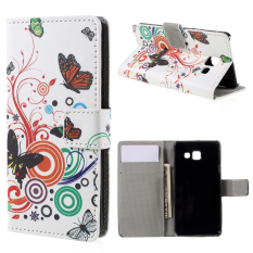 Dompet Penyangga dari Kulit Flip Penutup untuk Samsung Galaxy A3 (Aneka Warna)