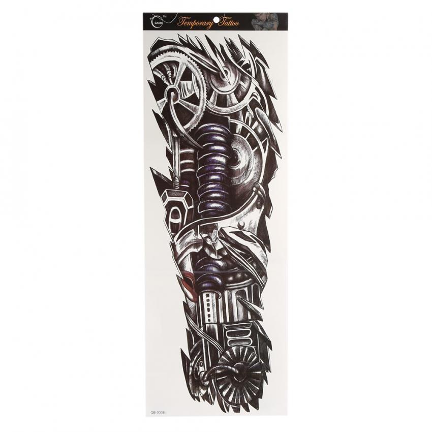 Fancytoy Beberapa Model Waterproof 3d Tato Lengan Sementara Kaki Source · Wanita Pria Temporary Fake Full Lengan Leher Body Art Tattoo Transfer Sticker ...
