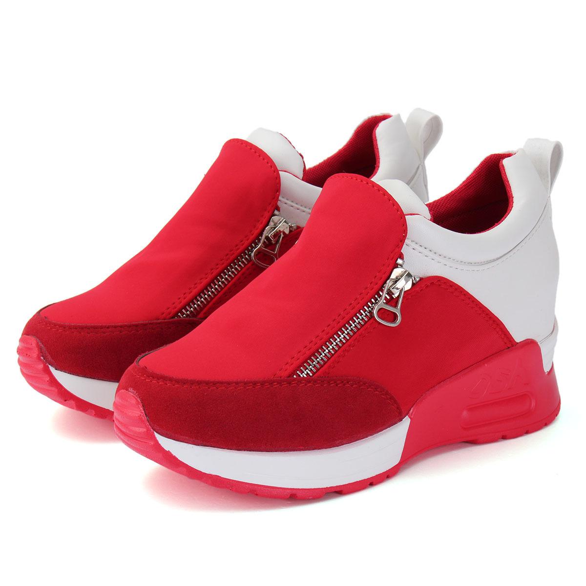 Kualitas Wanita Sepatu Kets Sepatu Olahraga Kode Pos Baji Tersembunyi Hak Oem