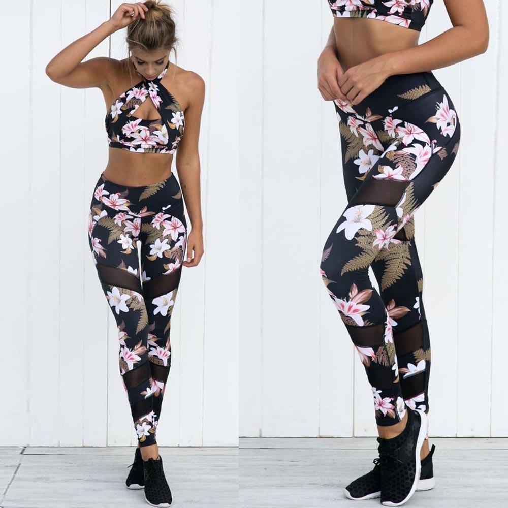 Jual Wanita Tinggi Pinggang Senam Yoga Olahraga Lari Fitness Legging Pants Athletic Trouser Intl Online