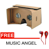 Jual Wanky Cardboard Virtual Reality For Smartphone Gratis Headset Music Angel Online Di Indonesia