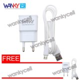 Jual Wanky Travel Charger Fast Charging For All Smartphone Putih Gratis Wanky Travel Charger Antik