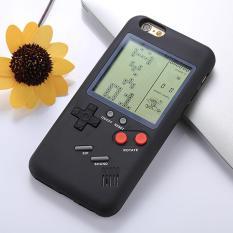 Wanle VC-061 untuk iPhone 7 & 8 3D Puzzle Permainan Mesin Dirancang Keras Belakang Silikon Pelindung Case (Hitam) -Internasional