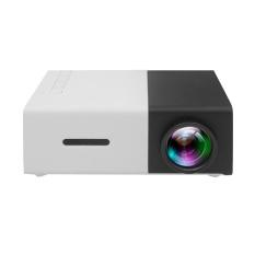 Wanying (Inggris) Multimedia Portable LED Proyektor dengan PC Laptop USB/SD/AV/input HDMI Proyektor Saku untuk Video Film Game Home Entertainment Projetor dengan Remote Control, Idea For Kids/anak-anak Hadiah (kualitas Dijamin) (kuning Putih)-Intl