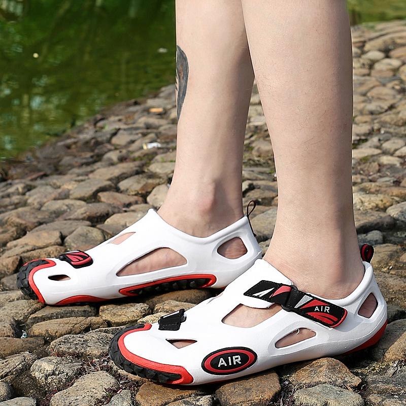 Beli Ultralight Luar Ruangan Laki Laki Tergelincir Sandal Diaoyu Sepatu Oem Asli