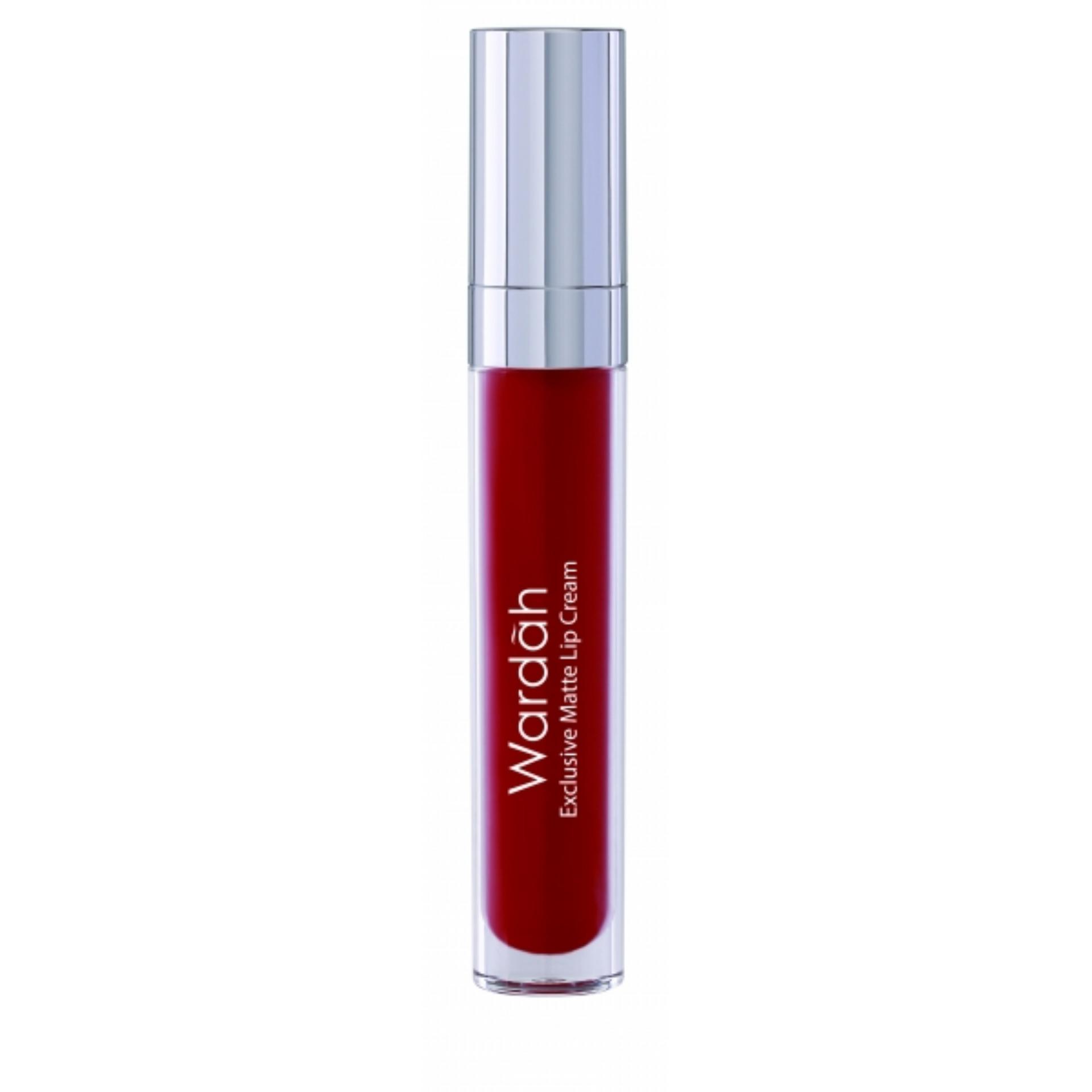 Jual Wardah Exclusive Matte Lip Cream 01 Red Dicted Pewarna Bibir Lip Cream Matte Termurah
