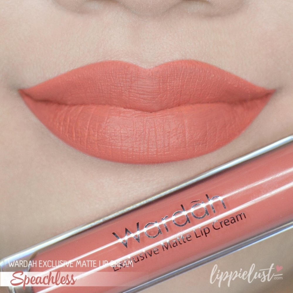 Wardah Exclusive Matte Lip Cream - Speechless 05