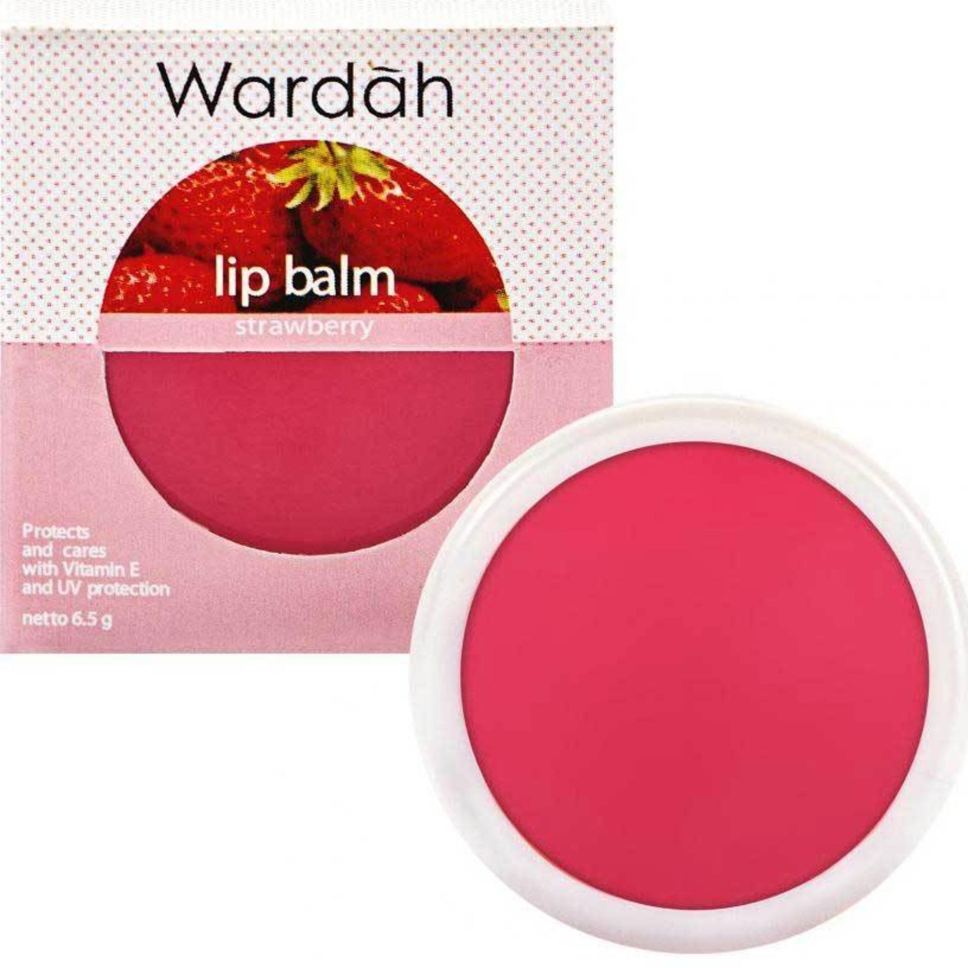 Wardah Lip Balm Strawberry