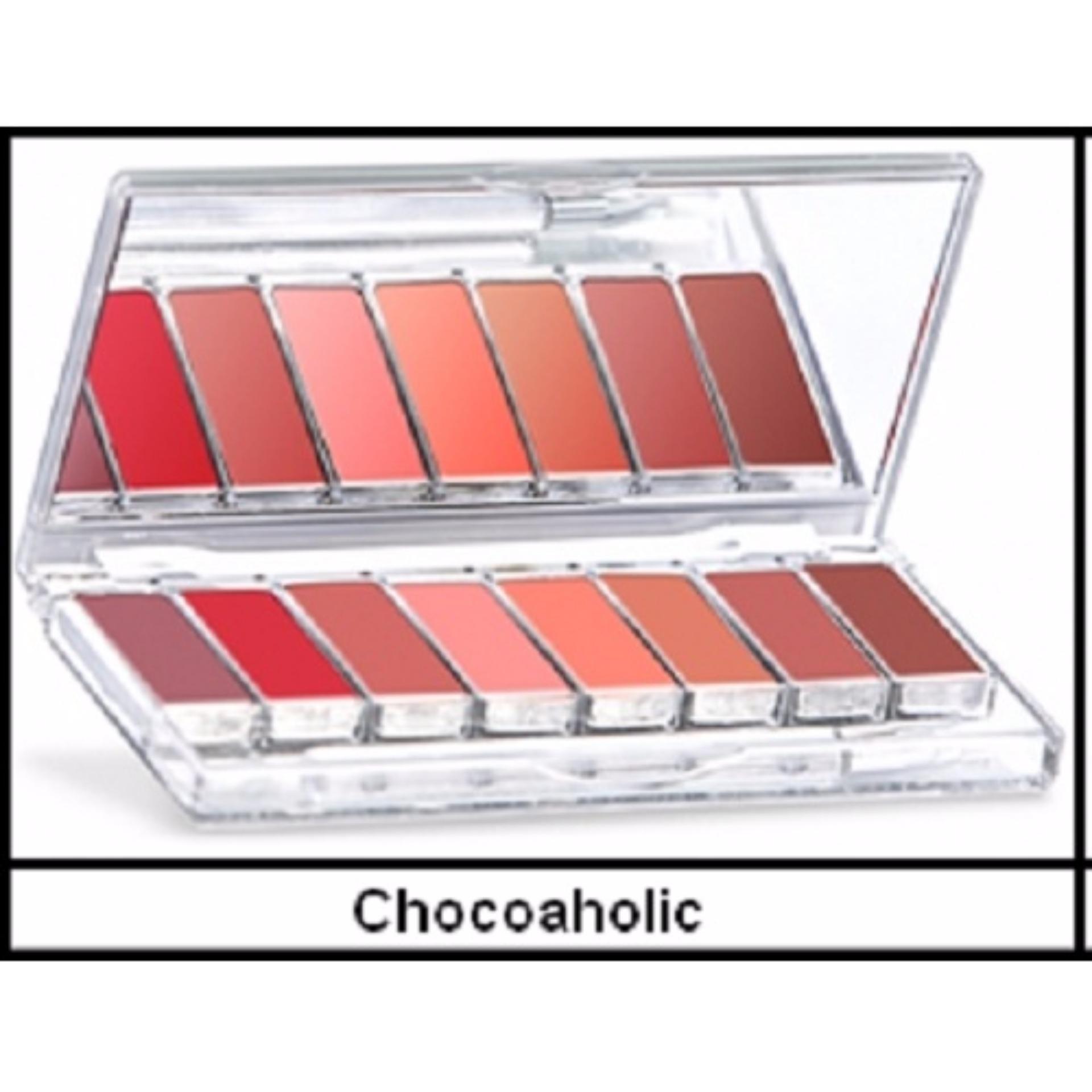 Wardah Lipstik Palette - Chocoaholic