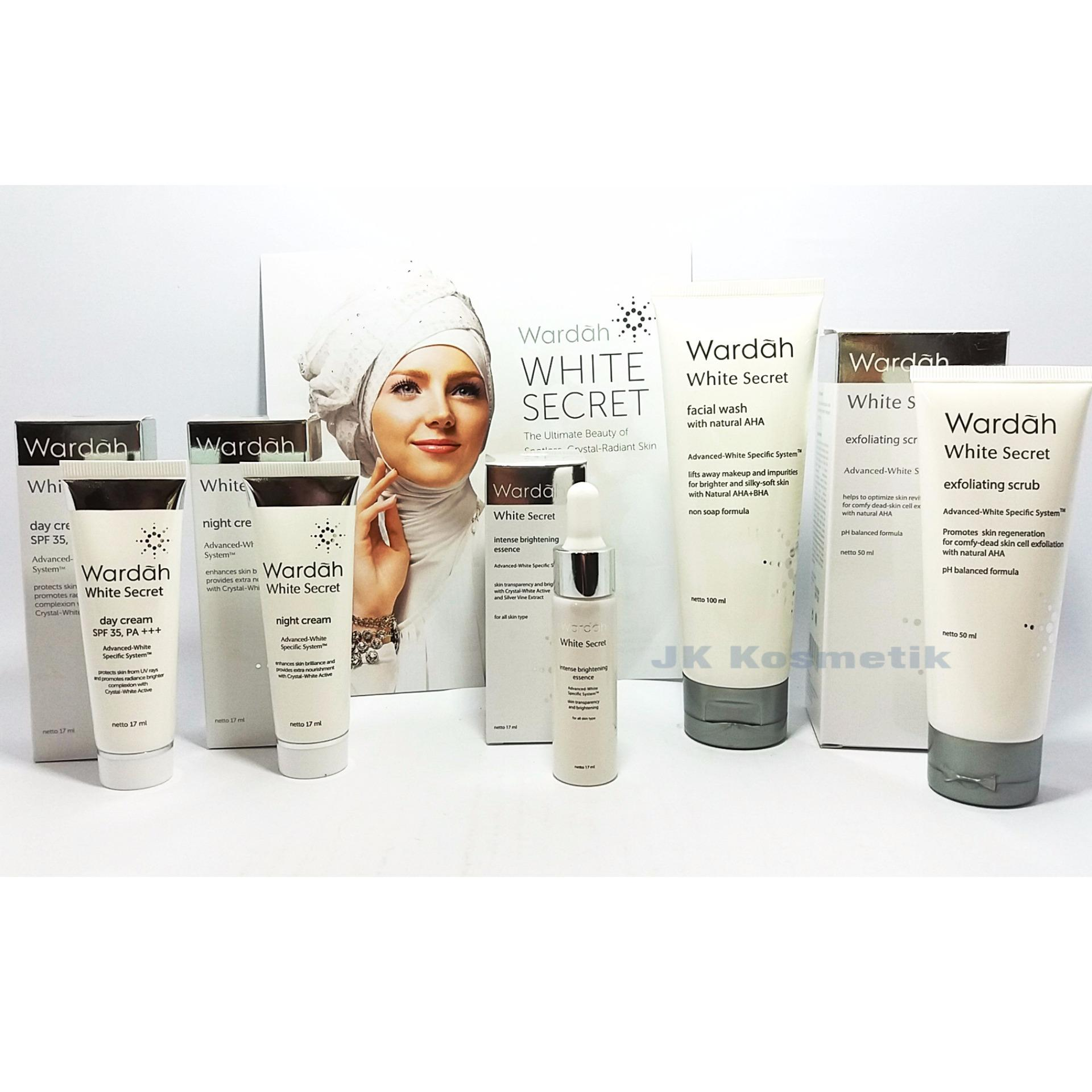 Wardah WHITE SECRET isi 5 Item
