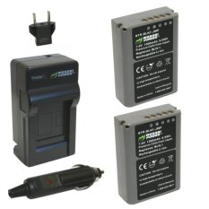 Beli Wasabi Power Battery 2 Pack Charger For Olympus Bln1 Wasabi Power Asli
