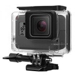 Obral Waterproof Case For Gopro Hero5 Ilivable Gopro Super Suit 45M Underwater Protective Housing Shell With Bracket For Go Pro Hero 5 Action Camera Black Intl Murah