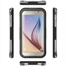 Beli Waterproof Case Untuk Samsung Galaxy S6 S6 Edge Hitam Online