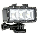 Toko Waterproof Dimmable Led Video Pov Flash Fill Night Light For Gopro Xiaoyi Lengkap Di Tiongkok
