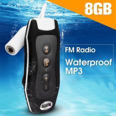 Tahan Air Mp3 Pemutar Musik Olahraga Berenang Radio Fm Earphone 8 Gb Hitam Intl Oem Diskon