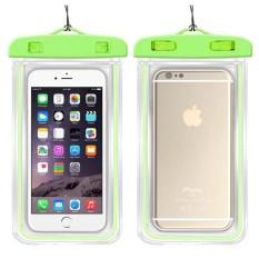 Tas Telepon Tahan Air untuk Alcatel Idol Alpha/OT6032 Swimming Phone Case Tas Luminous (Cocok untuk 6 Inches Di Bawah) -Intl