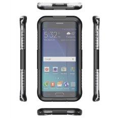 Tahan Air Shockproof Case Cover untuk Samsung Galaxy S6 Edge Plus Hitam