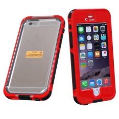 Tahan Air Tahan Guncangan Casing Penutup Anti Debu untuk iPhone 6 S Plus 5.5 Inch Merah-Intl