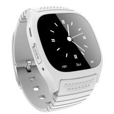 Harga Smart Watch Waterproof M26 Wanita Pria Bluetooth Jam Pintar Sinkronisasi Telepon Alat Pengukur Langkah Anti Hilang Untuk Android Smartphone Putih