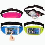 Harga Waterproof Sport Waist Bag For Handphone Android For Asus Zenfone 3 Laser Zc551Kl Biru Muda Branded
