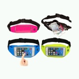 Promo Toko Waterproof Sport Waist Bag For Handphone Android For Lenovo K5 Note Hijau
