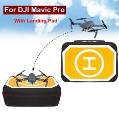 Ulasan Lengkap Tentang Tahan Air Penyimpanan Case Shoulder Bag Kotak W Landing Pad Untuk Dji Mavic Pro Drone Intl