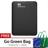Review Terbaik Wd Elements 2 5 Inch 2Tb Hitam Gratis Go Green Bag Pouch Pen