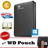 Beli Wd Elements 2 5 Inch Superspeed Usb3 1Tb Hitam Gratis New Wd Pouch Baru